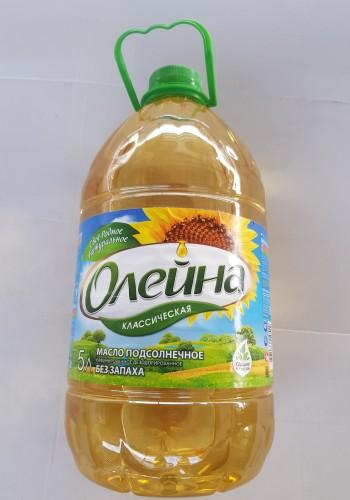 Масло растительное оптом «Олейна» (5л.)